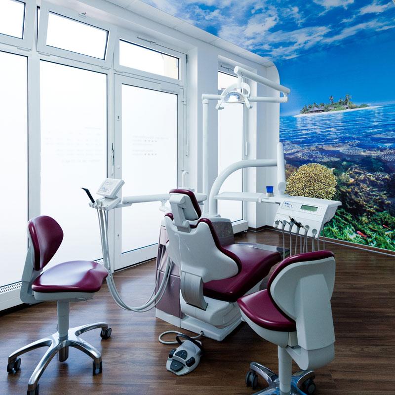 Behandlungszimmer 1 – Zahnarztpraxis Fulda