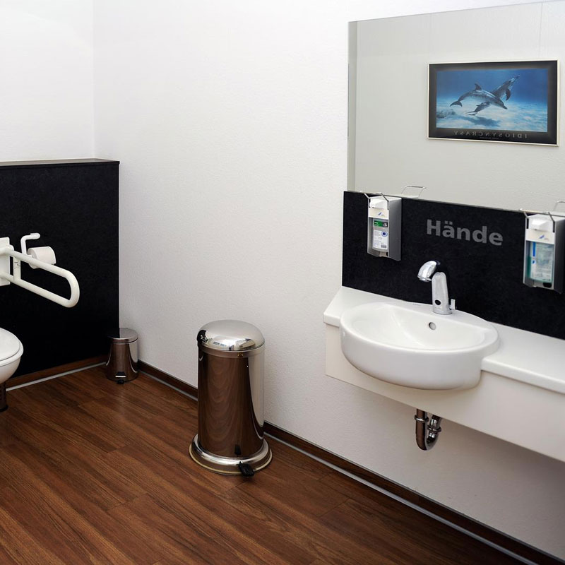 WC – Zahnarztpraxis Fulda
